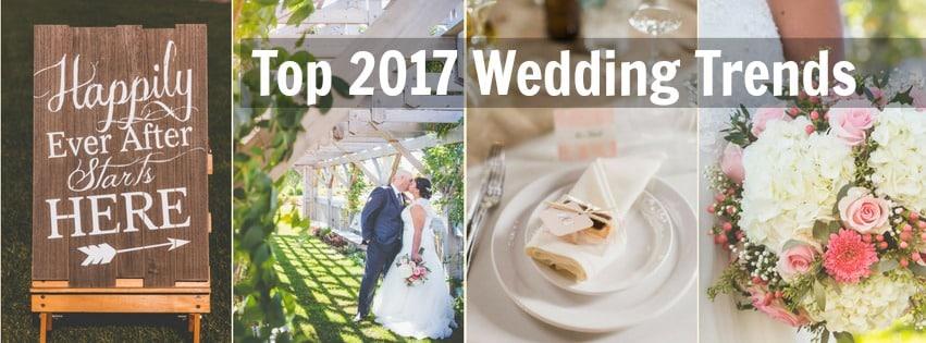 Top 2017 Wedding Trends